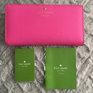Authentic Kate Spade Mikas Pond Stacy Wallet